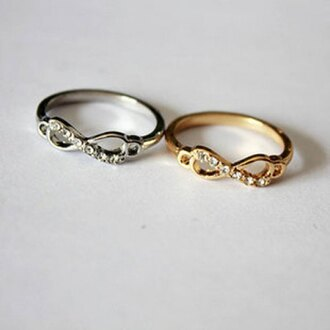jewels accessories ring jewelry bling infinity rings and tings gold ring silver ring