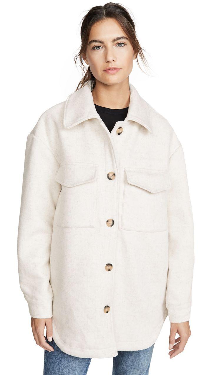 Line & Dot Drew Wool Blend Jacket