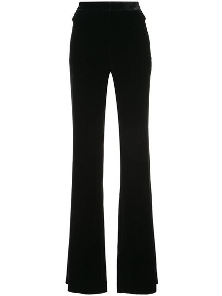 Veronica Beard women black silk pants