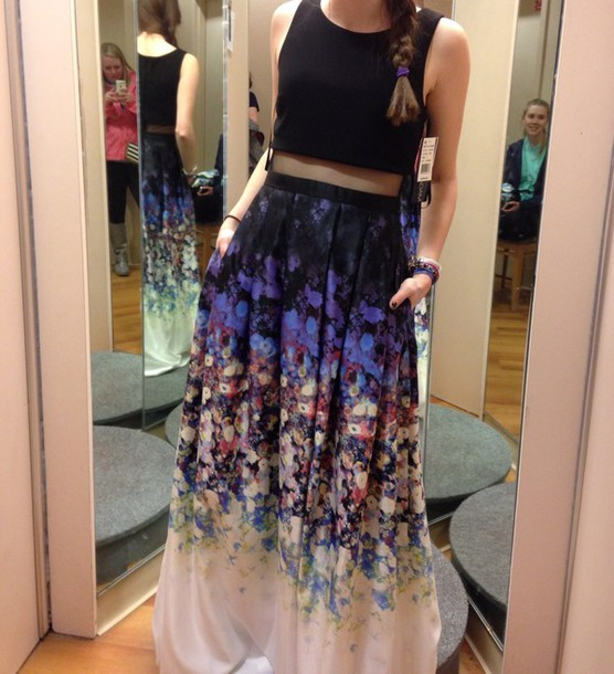 dress betsy and adam floral dress one peice