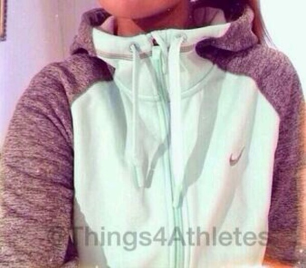 jacket nike mint turquoise sweater gray hoodie hoodie nikesweatshirt nike jacket jade women sweater mint green hoodie zip blue-ish grey nike jacket nike sweatshirt top