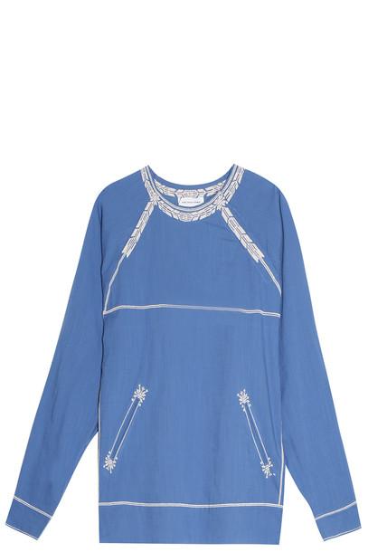 Isabel Marant etoile blouse blue top