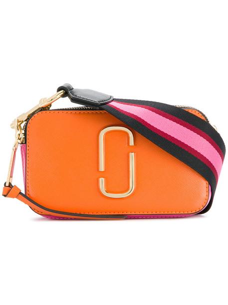 Marc Jacobs women bag leather yellow orange