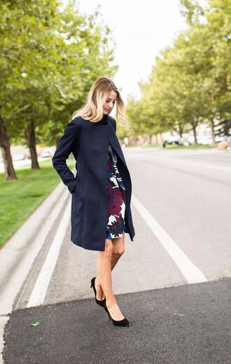 ivory lane blogger dress coat shoes