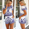 Old china romper set | outfit made