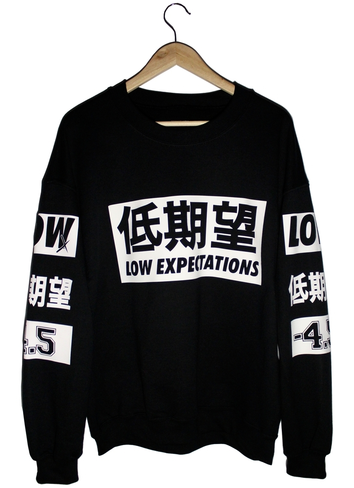 Low expectations — black series 003