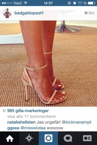 shoes sandals beige style summer shoes