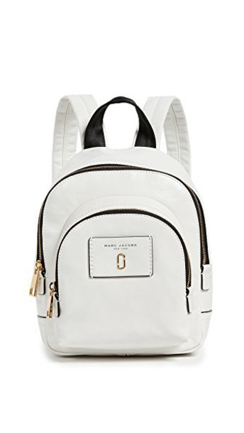 mini backpack white bag