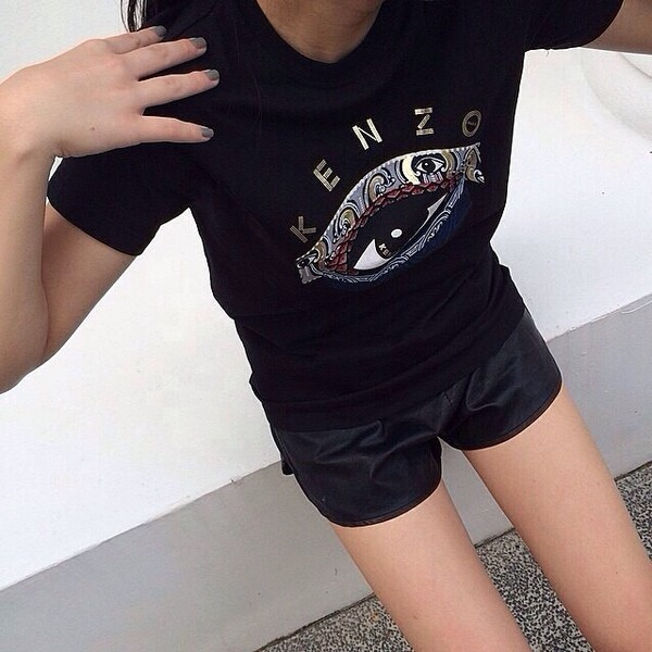 shirt kenzo black t-shirt cool shirts t-shirt teenagers printed top