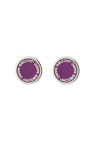 earrings stud earrings magenta jewels