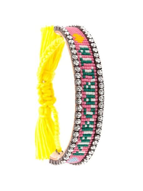 SHOUROUK tassel women cotton purple pink jewels