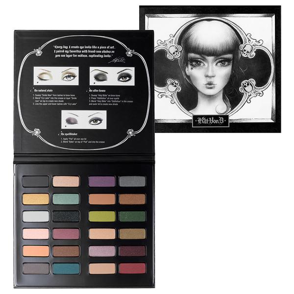 make-up palette kat von d eye shadow perfect makeup palette