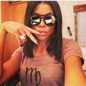 sunglasses,taraji p. henson,blackshades,round frame glasses,round sunglasses,mirrored sunglasses,blacknails