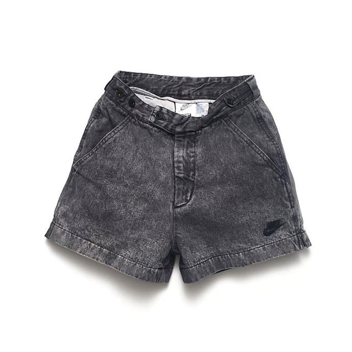 Nike Acid Wash Denim Shorts Black – Sweat The Style