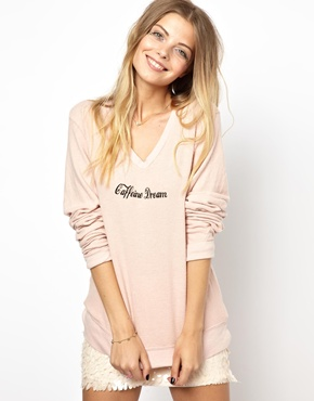 Wildfox | Wildfox Caffeine Dream Sweater at ASOS