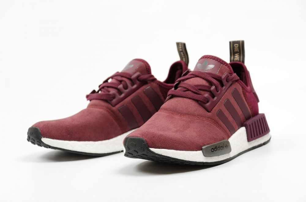 Adidas NMD R1 W Boost Burgundy Pick Your Size 5 to 10 Nomad ... 28ace72ec6fe