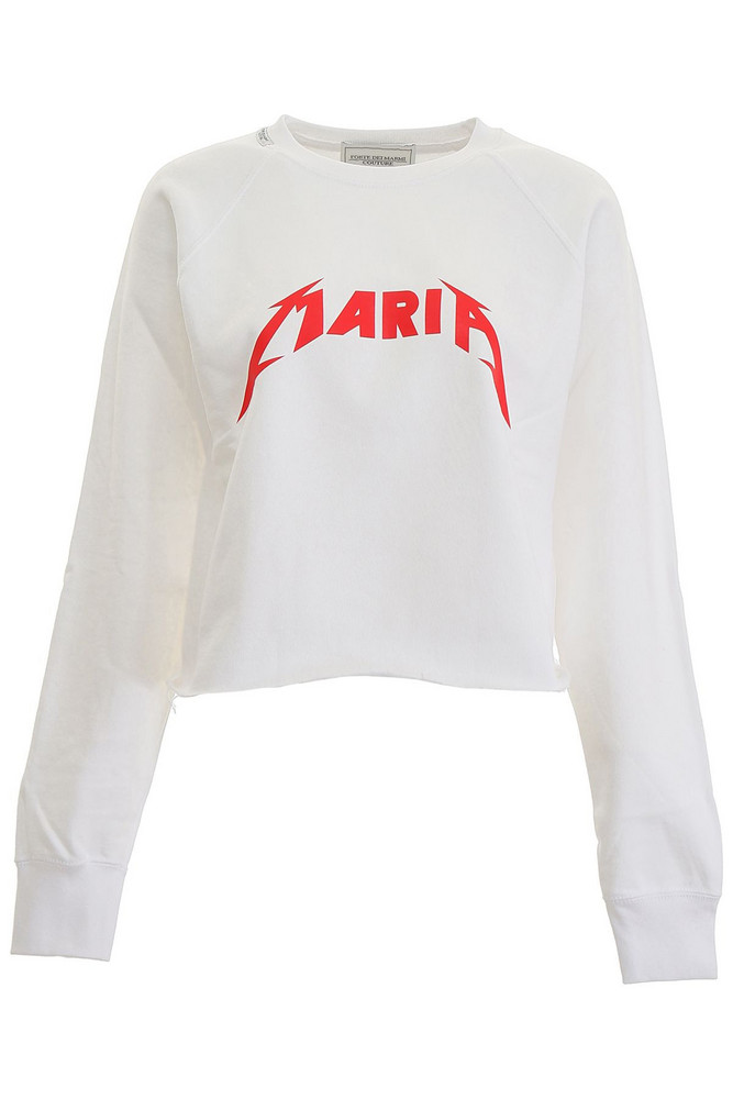 Forte Couture Mary Sweatshirt in white