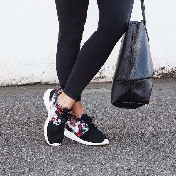 0b0242d92241 ... discount code for shoes nike nike roshe run floral nike nike shoes cute  run sportswear.
