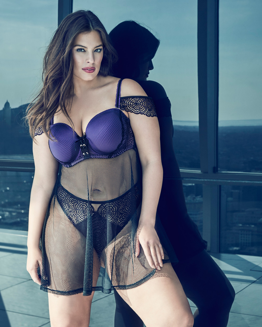 1a3264b988d plus-size-addition-elle-Ashley-Graham-Babydoll-with-matching-thong