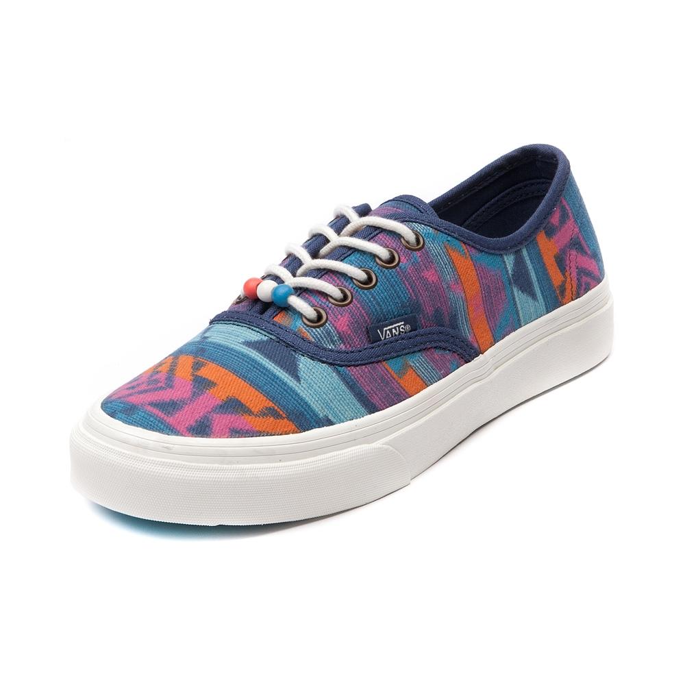 Vans Authentic Slim Skate Shoe, Multi | Journeys Shoes
