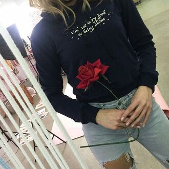 blouse yeah bunny alone space stars short hoodie