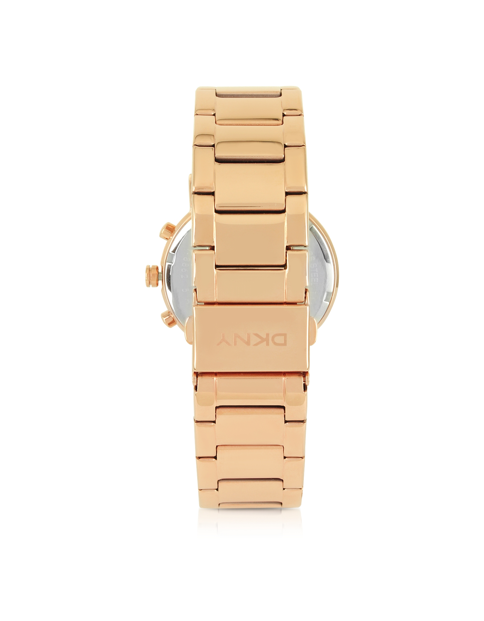 DKNY Soho Rose Golden Stainless Steel Chronograph Women's Watch