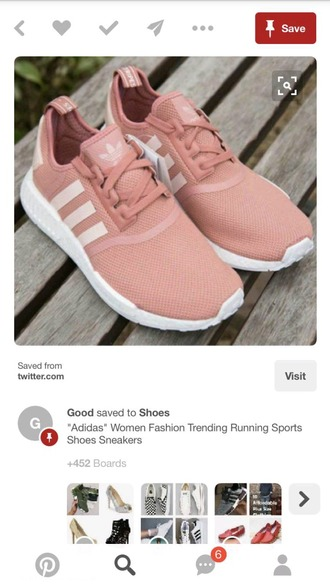 shoes adidas nmd r1 pink