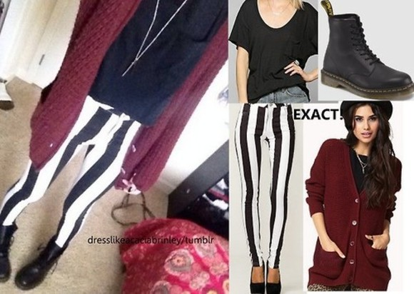 burgundy burgundy sweater shirt cardigan acacia clark leggings
