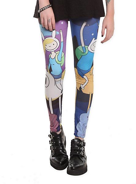 Adventure Time Night Leggings   Hot Topic