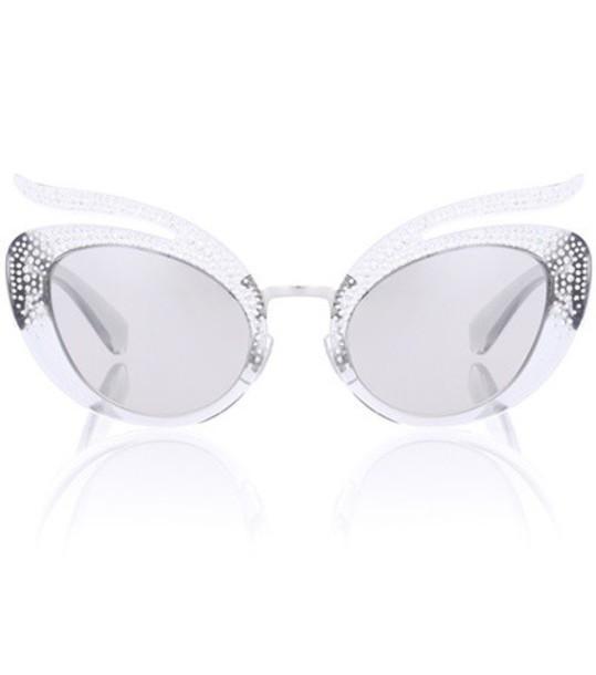 Miu Miu sunglasses silver