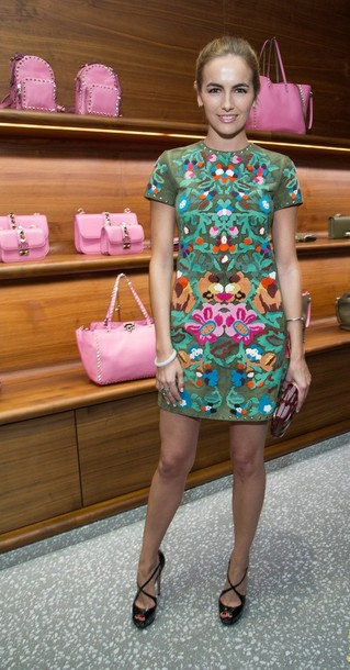 camilla belle gucci patterned dress dress shoes
