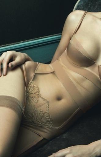 underwear nude garter thigh highs sexy bridal lingerie