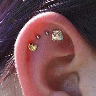 earrings pacman jewelry