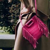 bag,pink bag
