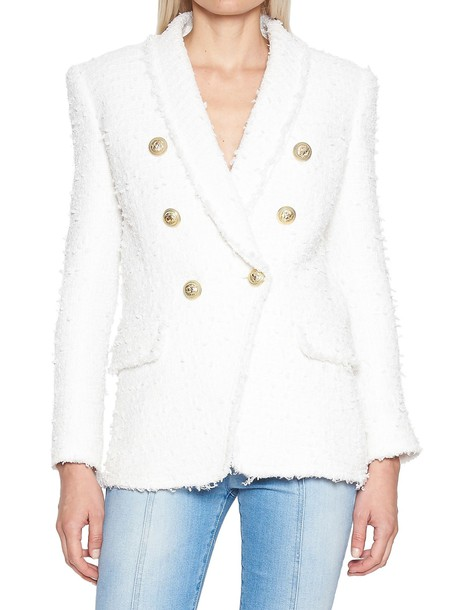 Balmain jacket white