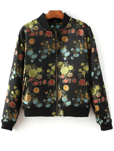 jacket zaful black floral back to school grunge grunge wishlist vintage fall outfits style fashion hippie chic girly