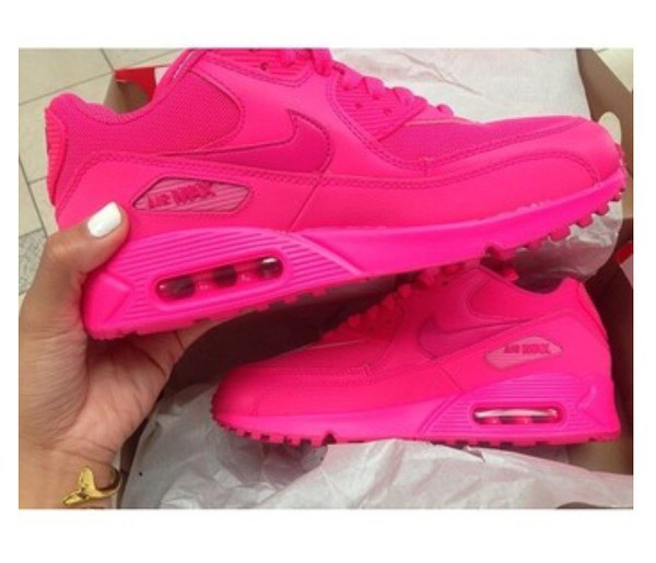 642584f5b00d Nike Air Max 90 Womens Shoes Hot Sell All Pink New
