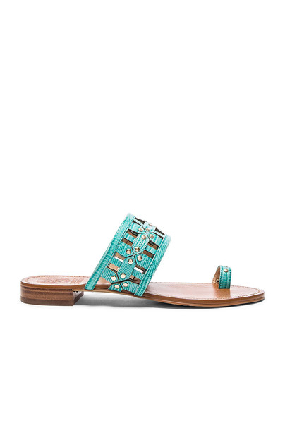 Vince Camuto Helice Sandal in turquoise