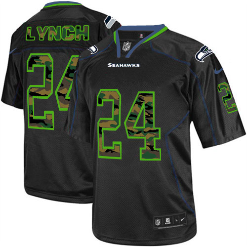Navy Grey White Marshawn Lynch Elite Jersey,Nilke Seattle Seahawks Online Sale