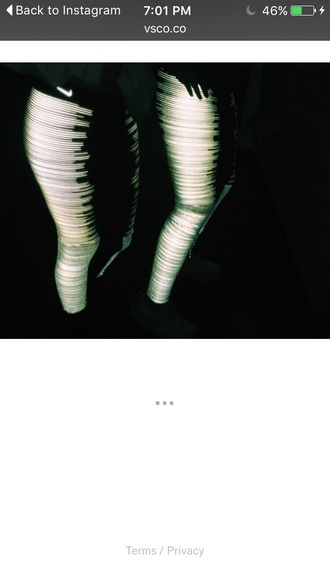 leggings nike nike glow in the dark leggings