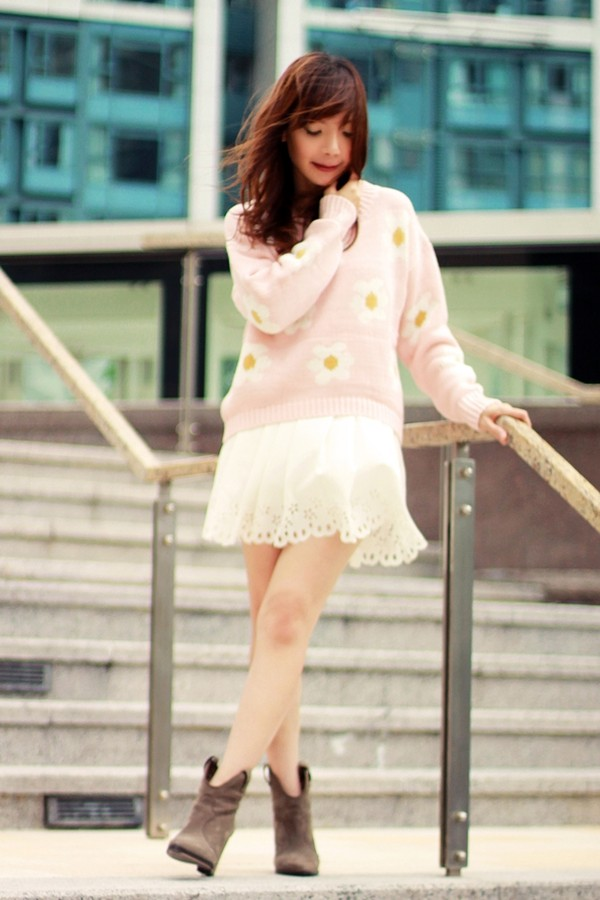mochaccinoland sweater skirt