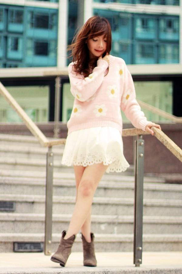 mochaccinoland sweater skirt