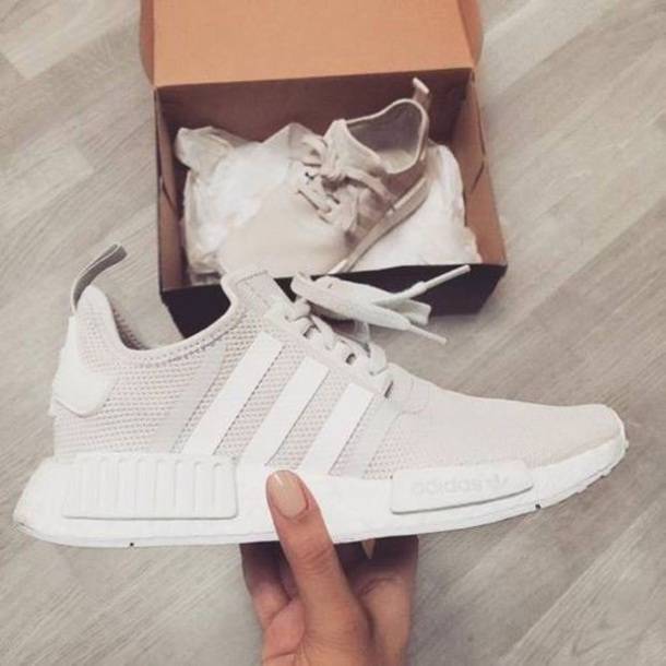 shoes adidas cream sneakers white