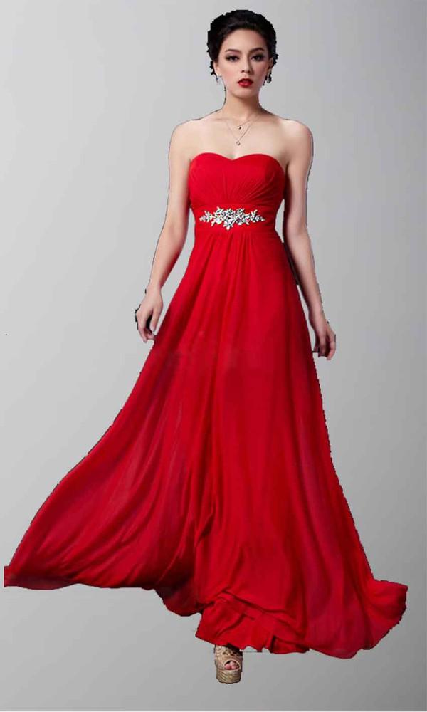red prom dress red dress long prom dress long formal dress sweetheart dress