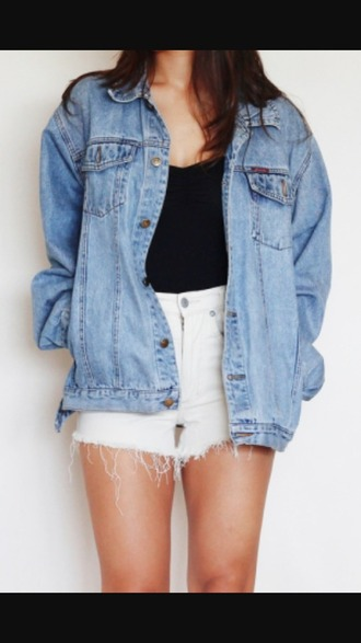 jacket oversized denim jacket