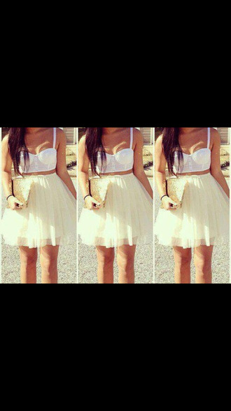 dress skirt birthday bustier white sliver sandals tutu tulle skirt tutu dress pink tutu tank top pretty outfit want!!!! cute pretty little liars