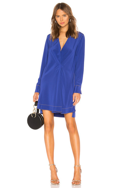 Rag & Bone Shields Dress in blue
