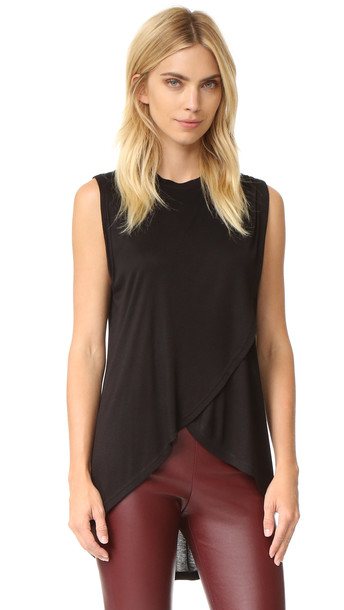 The Fifth Label Stop Start Tank - Black