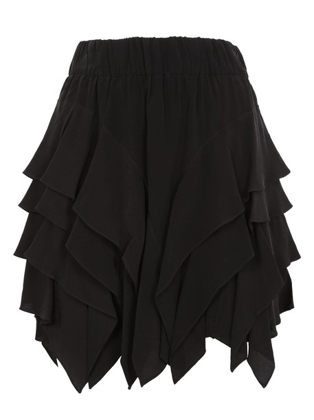 Isabel Marant etoile skirt mini skirt mini ruffle black