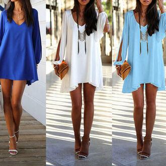 dress tumblr loose fit summer